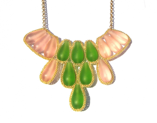 Cleopatra Cactus Bloom Necklace