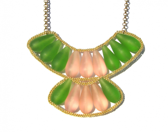 cactus_bloom_bib_necklace_double_pinkgreen_HD