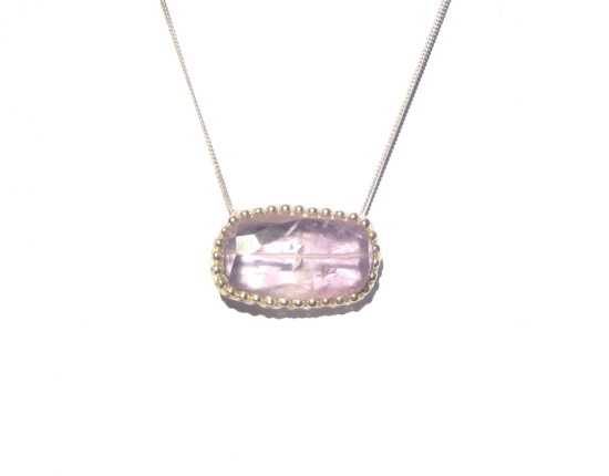 Hard Candy Necklace, amethyst