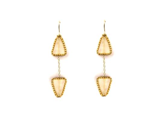 Arrow Earrings, crystal