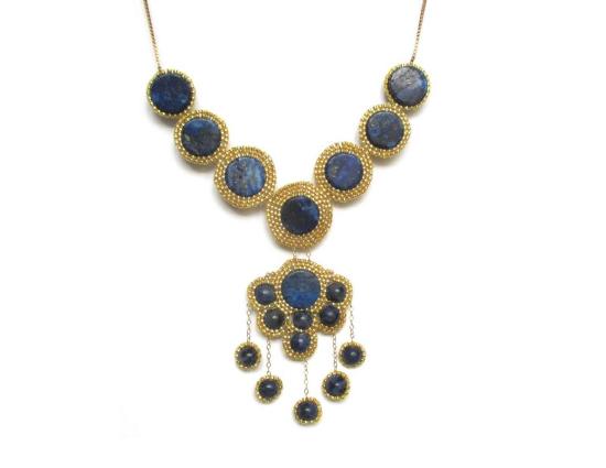 Hyades Necklace, lapis