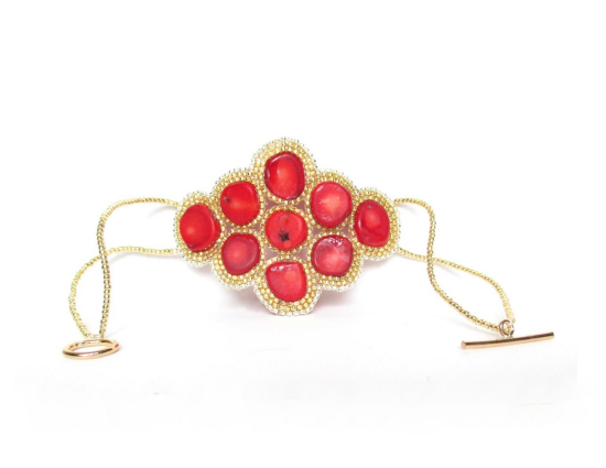 Laloo – Constellation Bracelet, coral