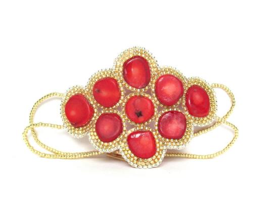 Laloo – Constellation Bracelet, coral, back