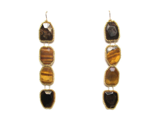 Laloo – Gemstone Totem, tigerseye