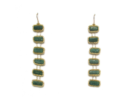 Laloo – Jianmu Ladder, green onyx long