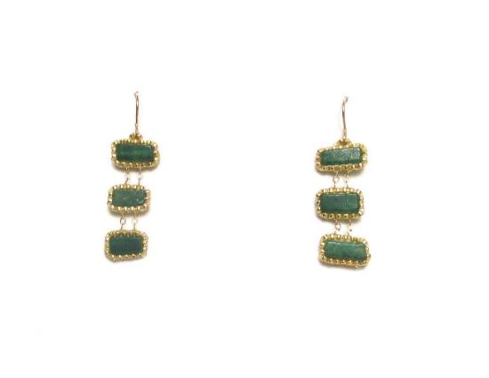 Laloo – Jianmu Ladder, green onyx short