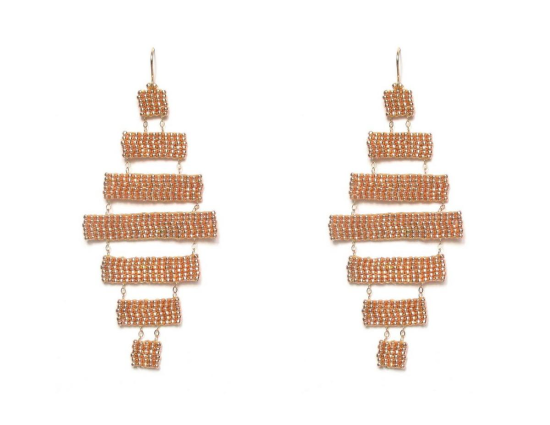 Laloo – Musou Chandeliers, rose gold, large