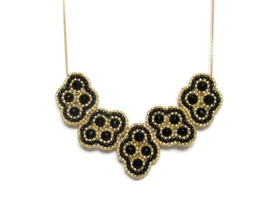 Laloo – Quadratic Necklace, onyx