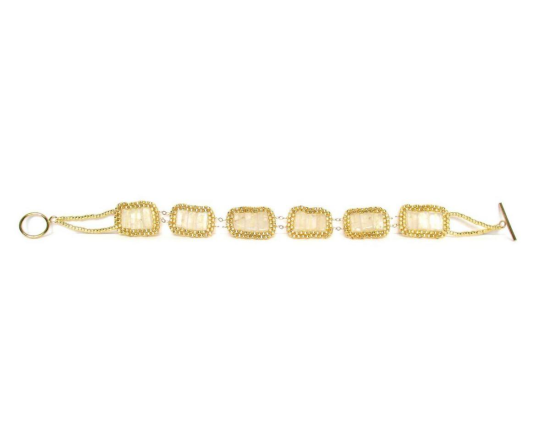 Laloo – Stepping Stone Bracelet, quartz, length