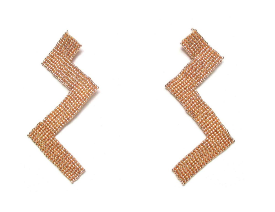 Laloo – Zig Zag, rose gold, large