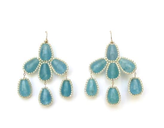 Laloo – Hyades Earrings, blue jade
