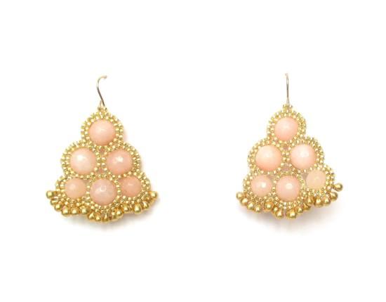 Laloo – Riviera Chandeliers, pink jade