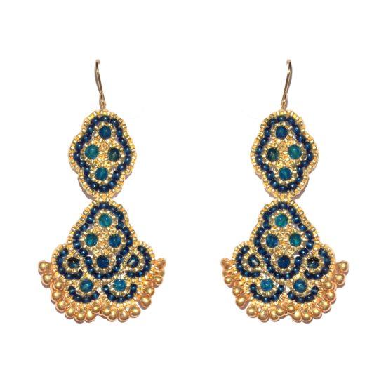 Laloo – Andalucia Chandeliers, cobalt jade, micro