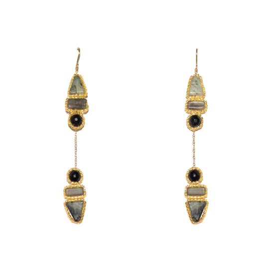 Laloo – Arrow Dusters, onyx and quartz
