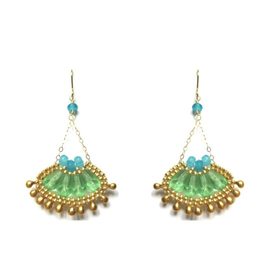 Laloo – Cactus Bloom Micro, green and blue