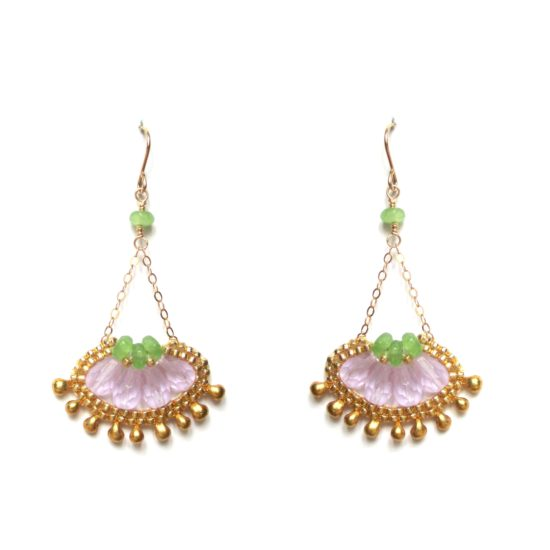 Laloo – Cactus Bloom Micro, light purple and green