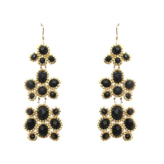 Laloo – Pebbles Chandeliers, onyx
